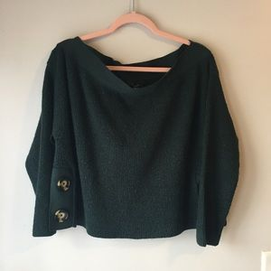 Super cute off the shoulder sweater